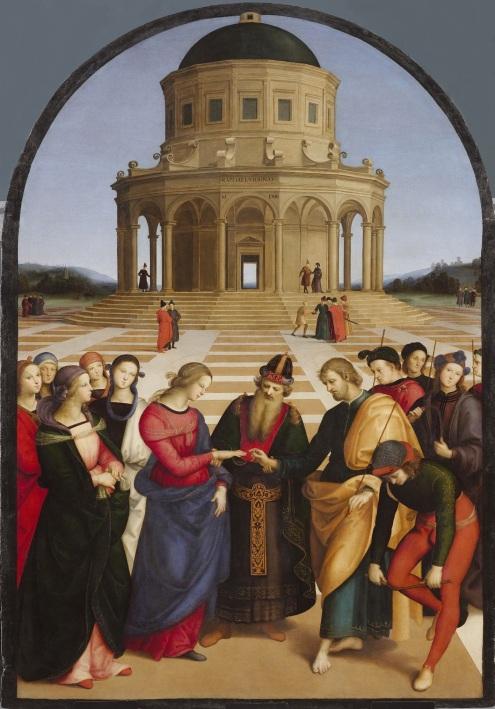 Lo Sposalizio by Raphael, 1504
