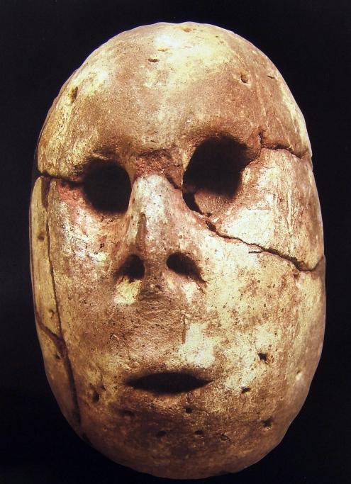 human mask, Merimde