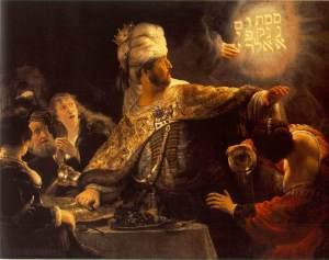 Rembrandt_-_Belshazzar's_Feast_-_WGA19123