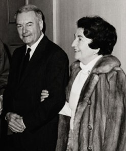 Gilbert Highet and his wife, Helen MacInnes