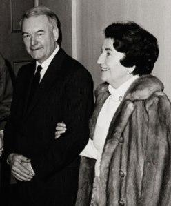 Gilbert Highet and his wife, Helen MacInnes