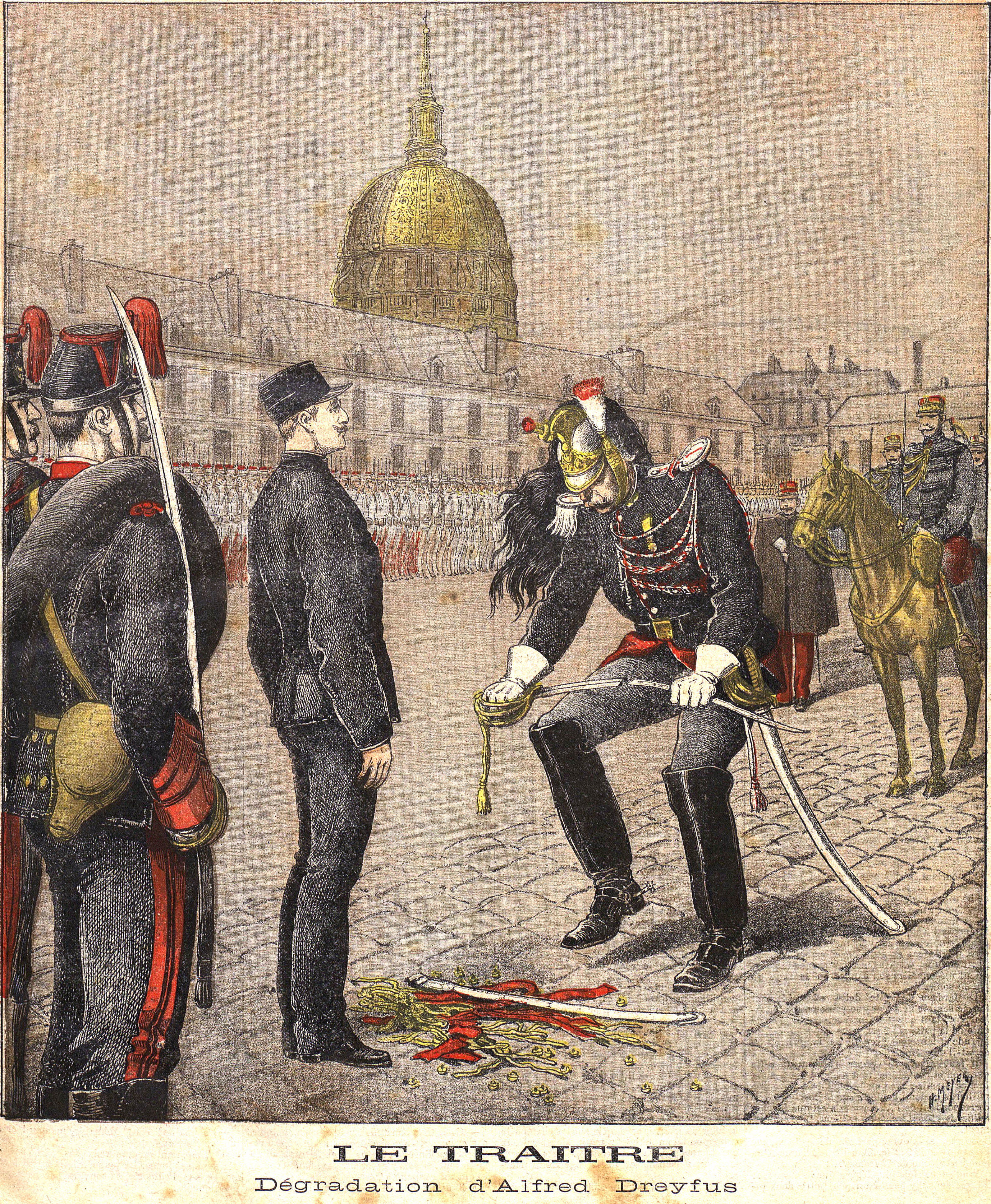 the dreyfus affair If they haven't been ordered to convict him, he will be acquitted this evening at nine o'clock on monday morning, october 15,1894, a french artillery officer serving as a trainee with the army's general staff reported to the ministry of war building on rue saint-dominique, in the aristocratic.