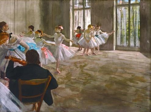 Edgar-Degas-Rehearal-in-the-Studio