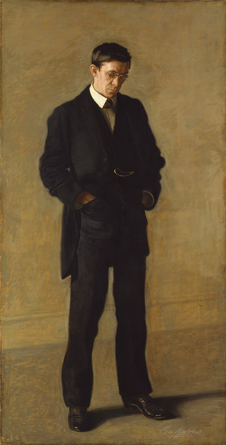 The Thinker: Portrait of Louis N. Kenton, 1900, by Thomas Eakins