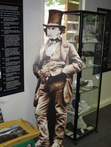 Isambard Kingdom Brunel, a diminutive man (just over five feet tall) with outsize ambition and the abilities to with it.