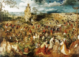 Pieter_Bruegel_The Procession to Calvary