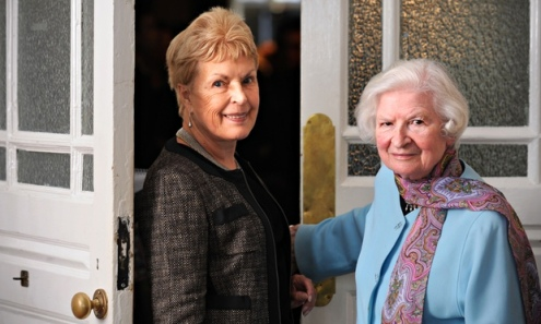 Ruth Rendell and P.D. James