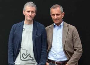 Francesco Carofiglio and Gianrico Carofiglio