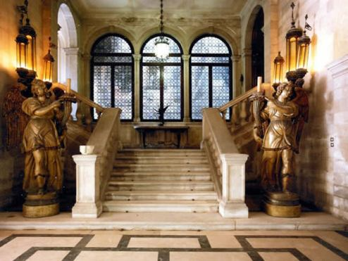 Palazzo Mocenigo - currently a museum