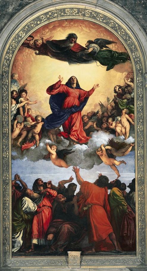 Assunzione, Tiziano (Titian) 1515-1518