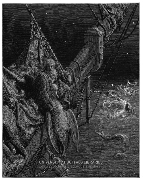 wrong actions in the rime of The rime of the ancient marine essaysintroduction to literary studies – q samuel taylor coleridge's poem the rime of the ancient mariner conveys to us a message that people have to.