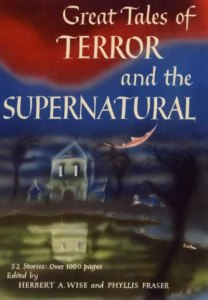 Original cover for Great Tales of Terror and the Supernatural