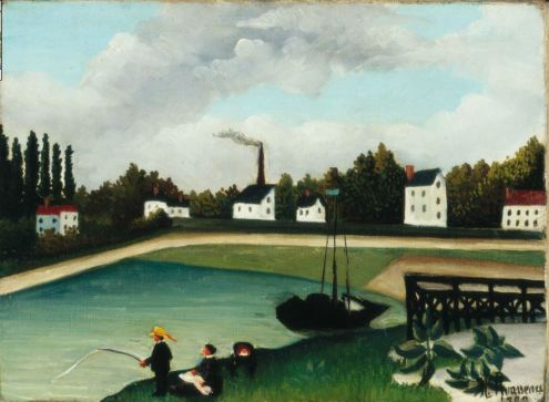 Henri Rousseau: View from the quai d'ivry