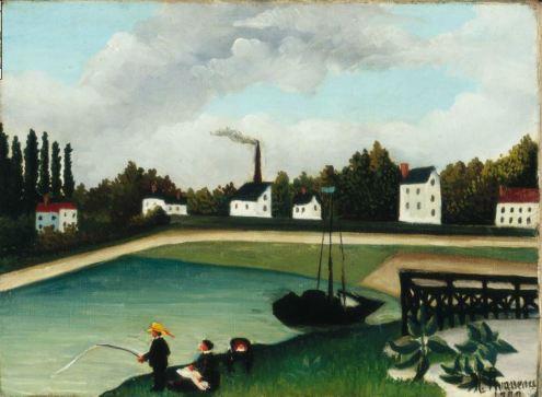 Henri Rousseau: View from the quai d'ivry