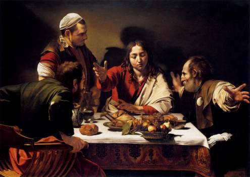 Supper at Emmaus. by Caravaggio
