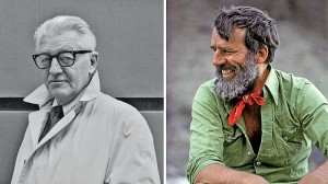 Wallace Stegner and Edward Abbey
