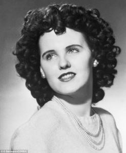 Elizabeth Short, also known as the Black Dahlia