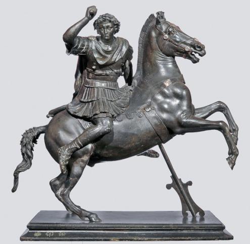 Alex-on-Horseback