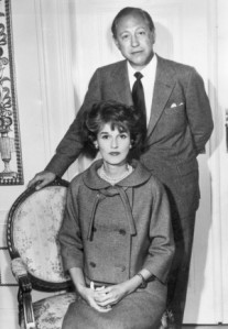 Babe Paley and her husband Bill, powerhouse behind the Columbia Broadcasting System (CBS)