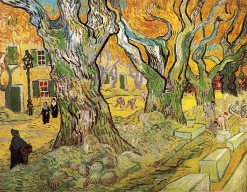 The Road Menders, Vincent Van Gogh