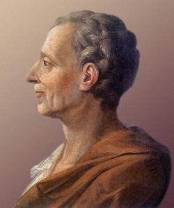 Baron de Montesquieu 1689-1755