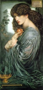 Jane Morris as Proserpine, by Dante Gabriel Rosetti