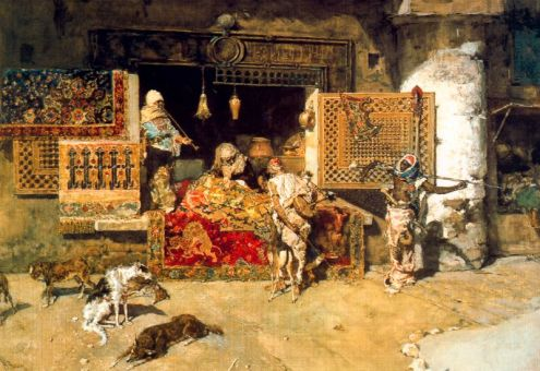 The Seller of Tapestries