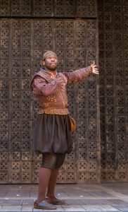 Stefan Adegbola as Launcelot Gobbo