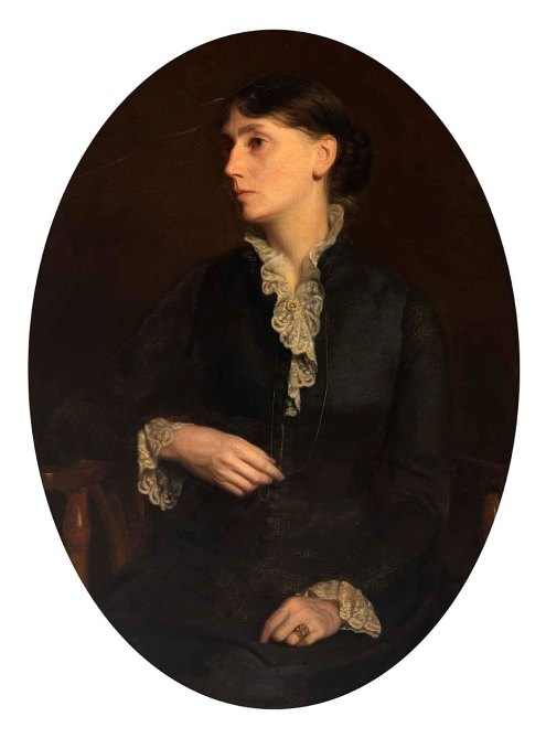 Fidelia Bridges, by Oliver Ingraham Lay