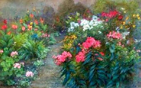fidelia-bridges-jardin-florido-pintores-y-pinturas-juan-carlos-boveri