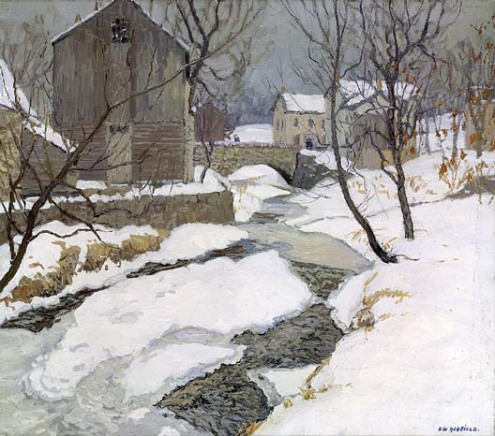 The Brook at Carversville, by Edward C Redfield
