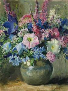 flowers, by Matilda Browne