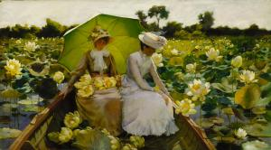 charles_courtney_curran_-_lotus_lilies
