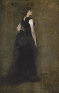 Woman in Black: Portrait of Maria Oakey Dewing