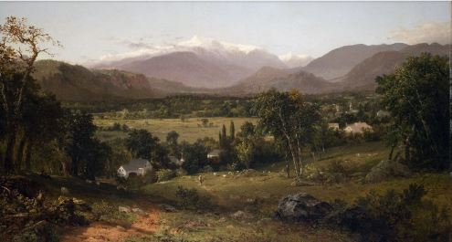Mount Washington from the Valley of Conway, John Frederick Kensett