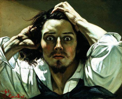 The Desperate Man (Self-Portrait) ca. 1845