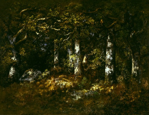 Narcisse Virgilio Diaz Forest of Fontainebleau 1868