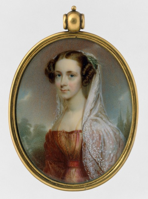 Portrait of a Lady byby Thomas Seir Cummings, ca. 1827