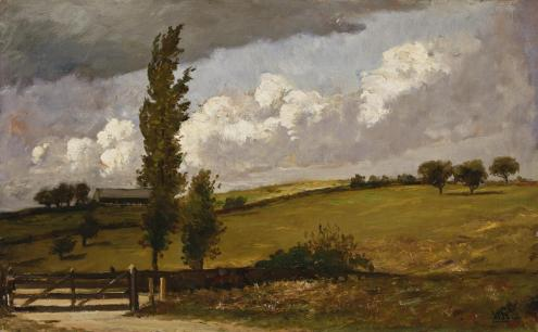 Landscape, by William Morris Hunt