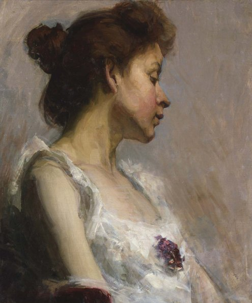 Portrait of the Artist's Wife, 1897
