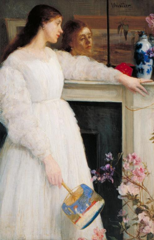 Symphony in White, No. 2: The Little White Girl, 1864