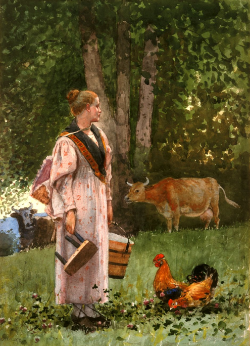 The Milkmaid 1878