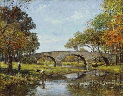 The Old Bridge 1890