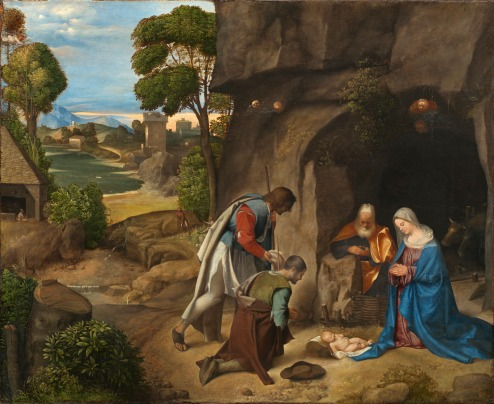 Adoration of the Shepherds, Giorgione