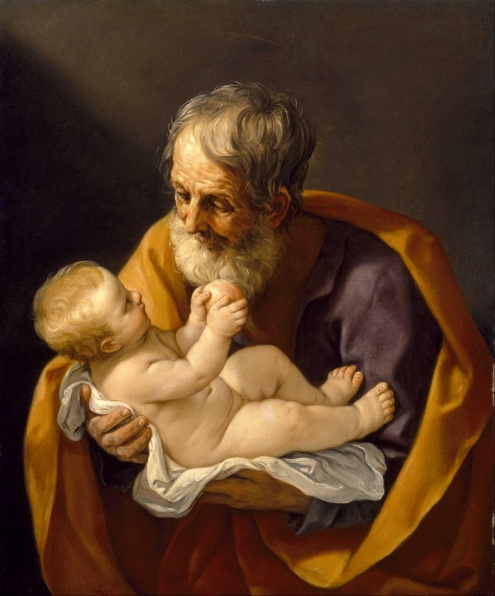 St. Joseph and the Christ Child, by Guido Reni