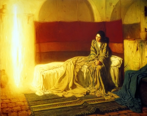 The Annunciation, Henry Ossawa Tanner