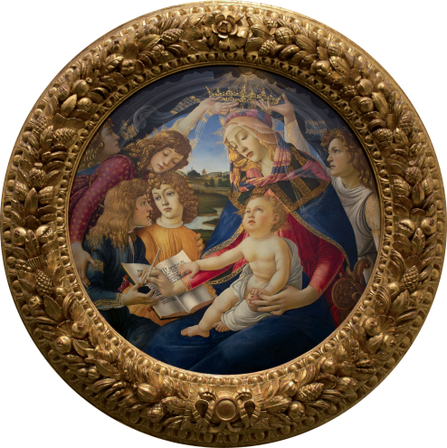 Madonna of the Magnificat, Botticelli