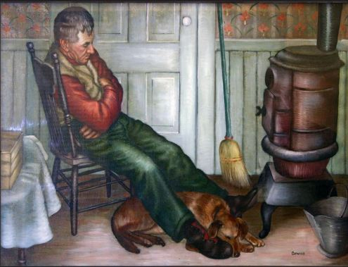 After the Chores by Dorothy Lauer Davids