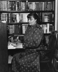 margery-allingham-at-her-desk-copyright-margery-allingham-society