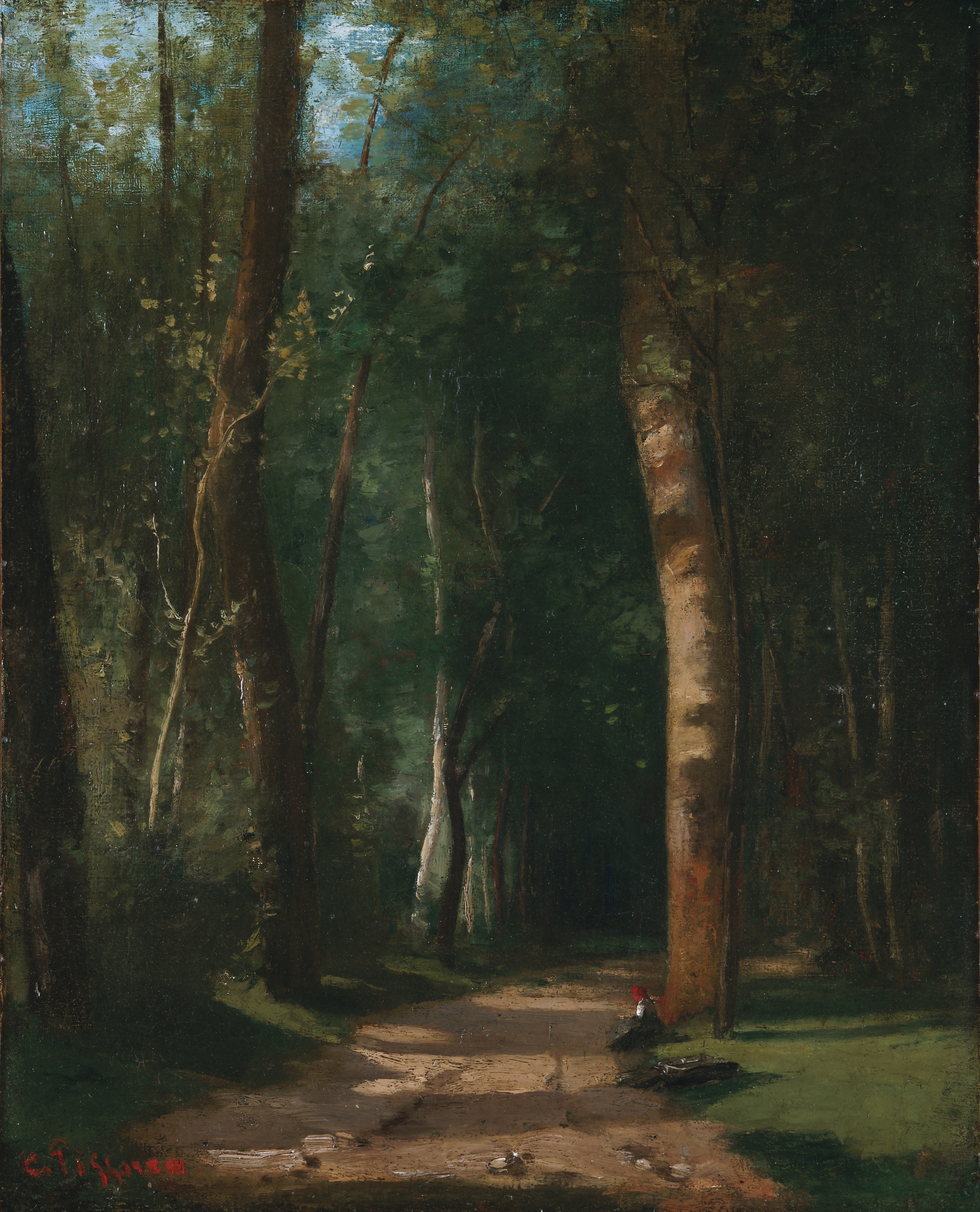 Road In A Forest 1859